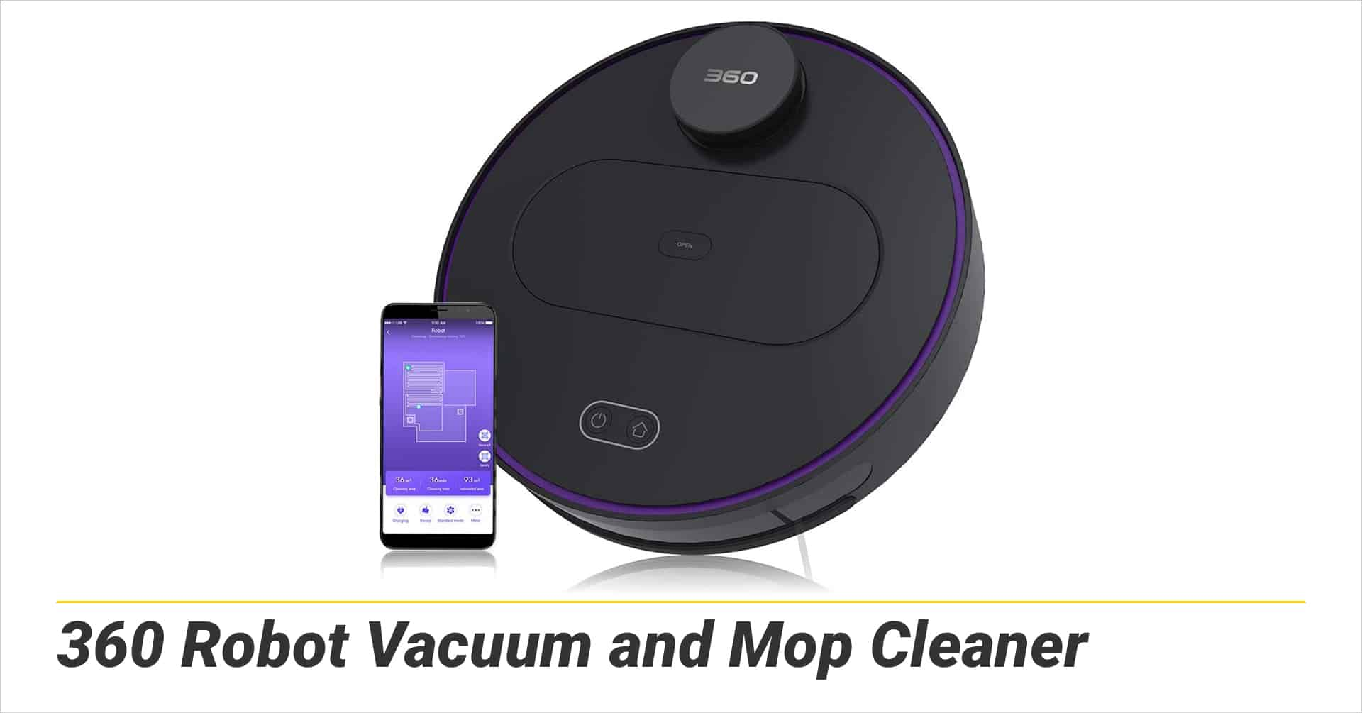 360 Robot Vacuum and Mop Cleaner