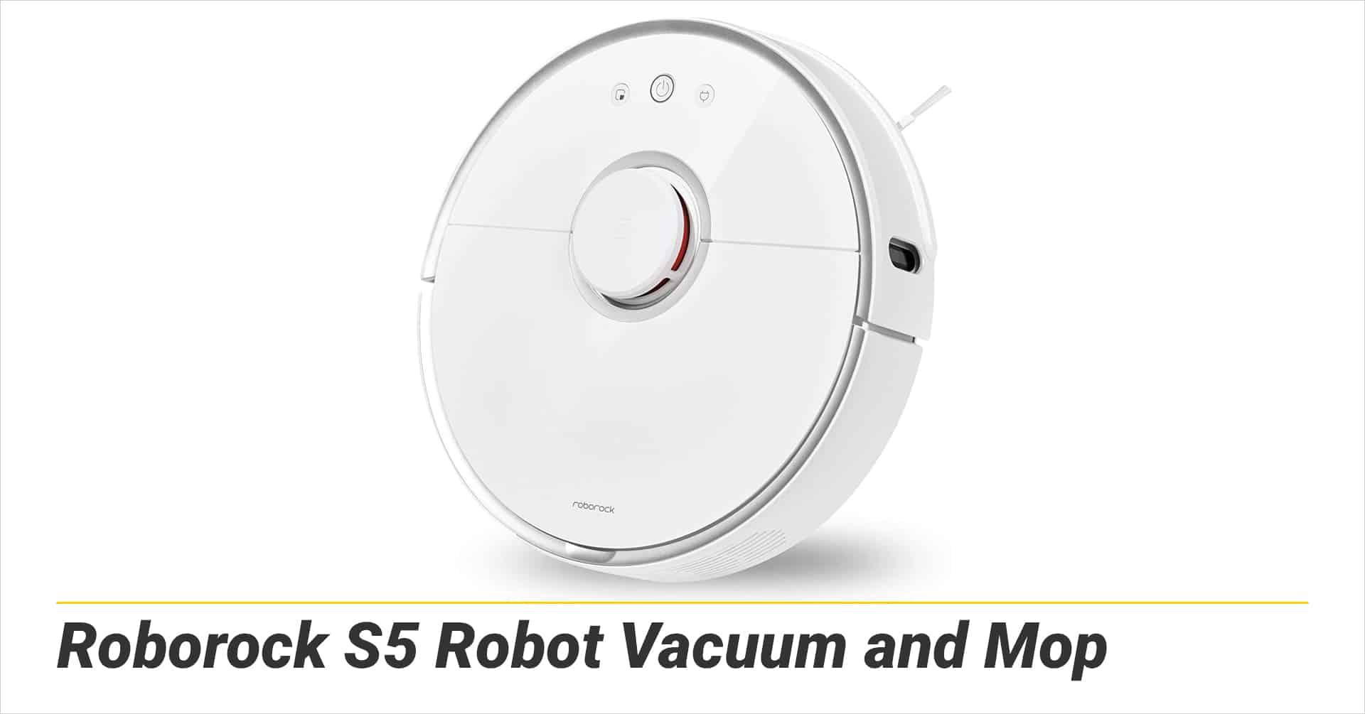Roborock S5 Robot Vacuum and Mop
