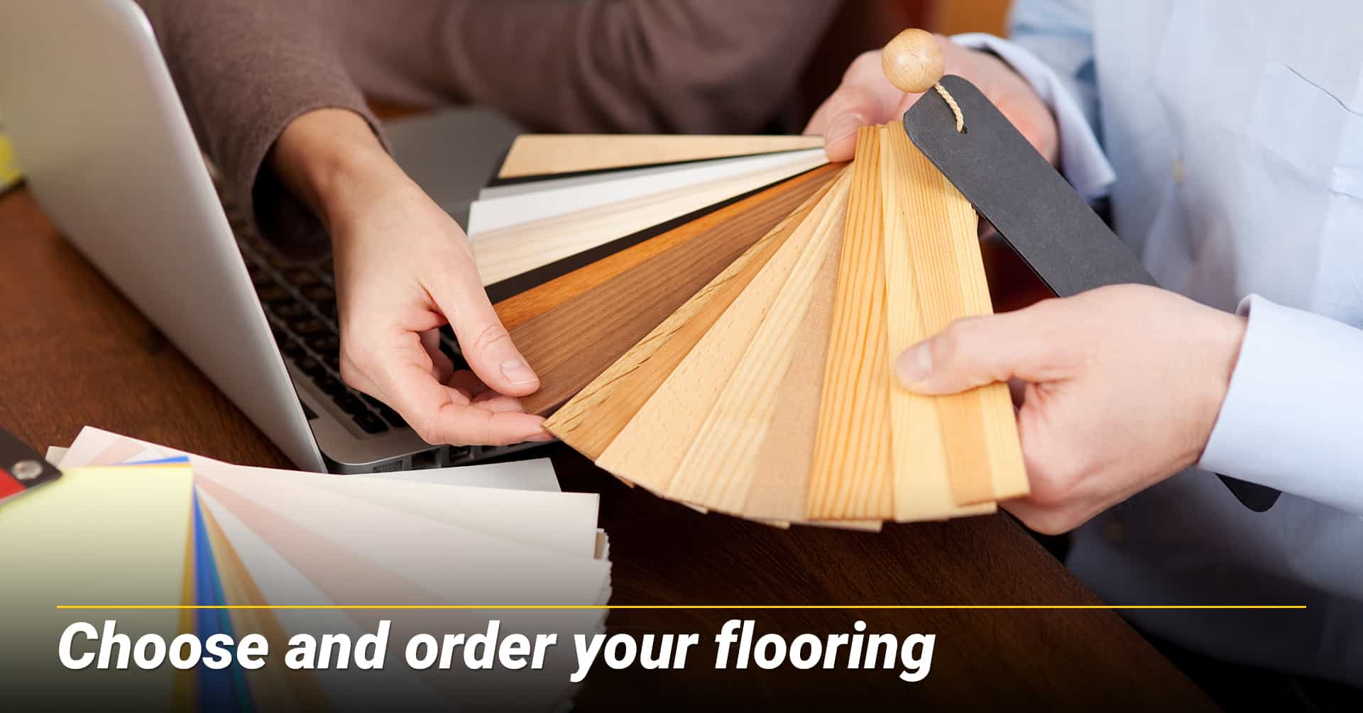 Choose and order your flooring